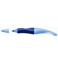 Roller Stabilo ´s move easy, stangaci, varf 0.5 mm, albastru deschis/inchis