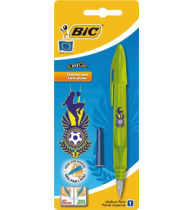 Stilou Bic Easy Clic Football, 1 bucata/blister