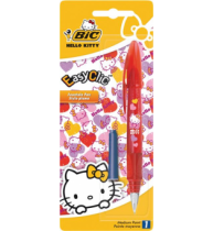 Stilou Bic Easy Clic Hello Kitty, 1 bucata/blister