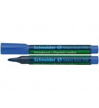 MARKER SCHNEIDER MAX 110 REINCARCABIL PT. TABLA ALBA/FLIPCHART, varf rotund 1-3 mm