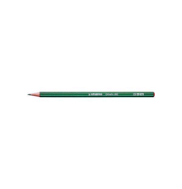 Creion grafit Stabilo Othello 282 fara radiera, 4B