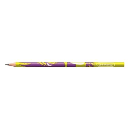 Creion grafit Beach, HB, corp galben
