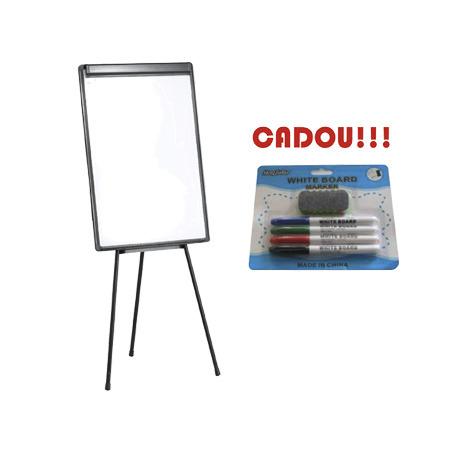 FLIPCHART MAGNETIC 70x100 cm + CADOU!!! (SET 4 MARKER WHITEBOARD + BURETE)