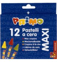 Creioane cerate Morocolor Maxi, 12 culori/cutie