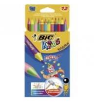 Creioane colorate BIC Evolution Circus