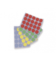 BULINE ADEZIVE DIAM. 19 mm, 4 culori, 1111526, MAGNETOPLAN