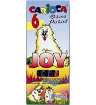 Markere Carioca Joy, varf 2 mm, 6 culori/blister