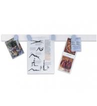 BANDA ADEZIVA MAGNETICA, alba, 1000x50 mm, 10 buc/set 16151, MAGNETOPLAN