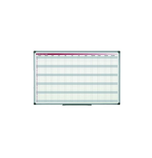 PLANNER ANUAL MAGNETIC BI-OFFICE 90X60 cm, (saptamani/luni)