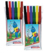 Marker Edding 1010, 6 culori/set