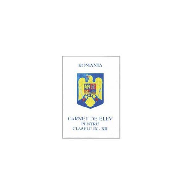 CARNET ELEV I-IV