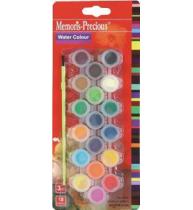 Acuarele 18 culori
