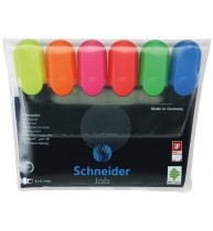 SET 6 TEXTMARKER SCHNEIDER JOB, varf tesit 1-5 mm