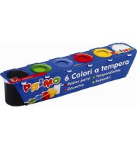 Tempera speciala Primo Morocolor, 6 culori, standard