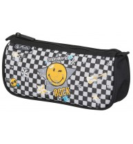 NECESSAIRE TRIUNGHIULAR SMILEY WORLD ROCK