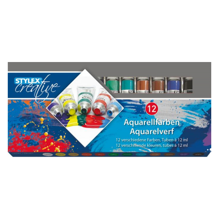 Tempera, 12 ml/culoare, 12 culori/set