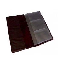 CLASOR CARTI DE VIZITA PVC FLARO, capacitate 72 buc