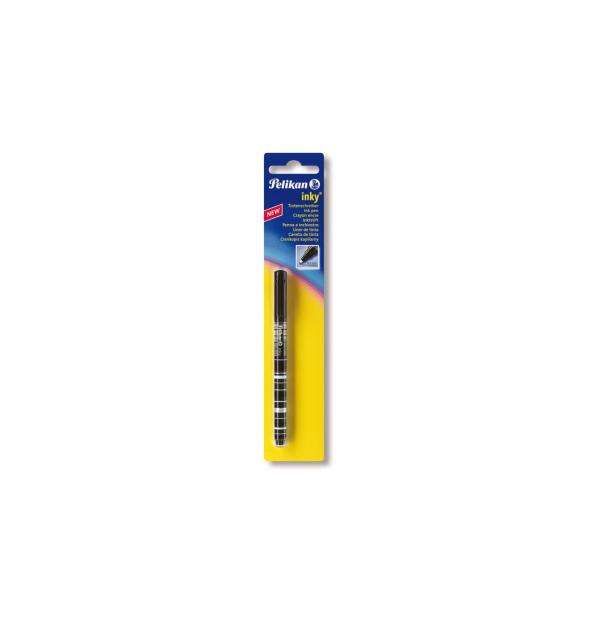 ROLLER INKY 0.5MM NEGRU BLISTER