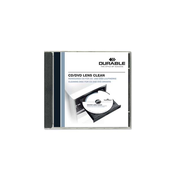 CD PT. CURATARE CD-ROM/DVD, DURABLE
