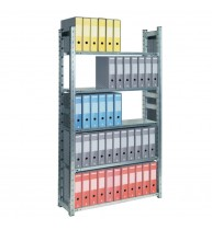 RAFT METALIC PROFESIONAL 6 POLITE 1000x500x2500 mm (lxAxH) 180 kg/polita, PLUS