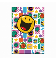 CAIET A5 96F PATRATELE COPERTA TARE SMILEY WORLD HAPPY