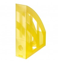 SUPORT DOSARE PLASTIC A4 GALBEN TRANSLUCID
