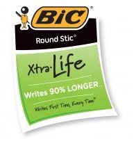 Pix fara mecanism Bic Stic Round, corp plastic, 0.4 mm, negru