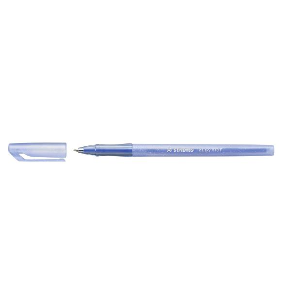 Pix Stabilo Galaxy 818, varf 0.4 mm, albastru