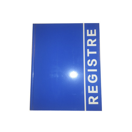 REGISTRU LUX A4, 80 file (coperta carton plastifiat)
