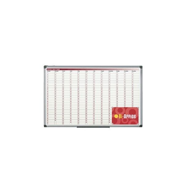 PLANNER ANUAL MAGNETIC BI-OFFICE 90X60 cm, (zile/luni)