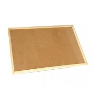 PANOU PLUTA 60x40 cm, rama lemn