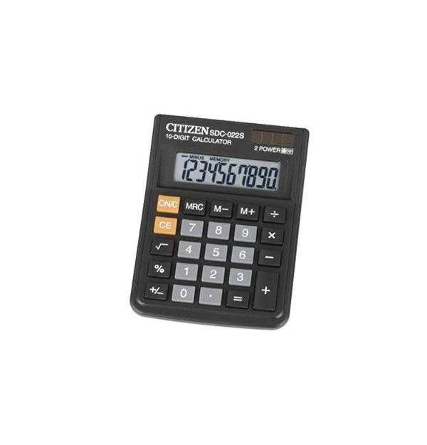 CALCULATOR 10 DIGITS, CITIZEN SDC-022S