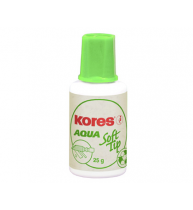FLUID CORECTOR AQUA SOFT TIP KORES, 20 ml