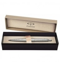 PIX PARKER JOTTER PREMIUM Shiny Stainless Steel Chiselled CT