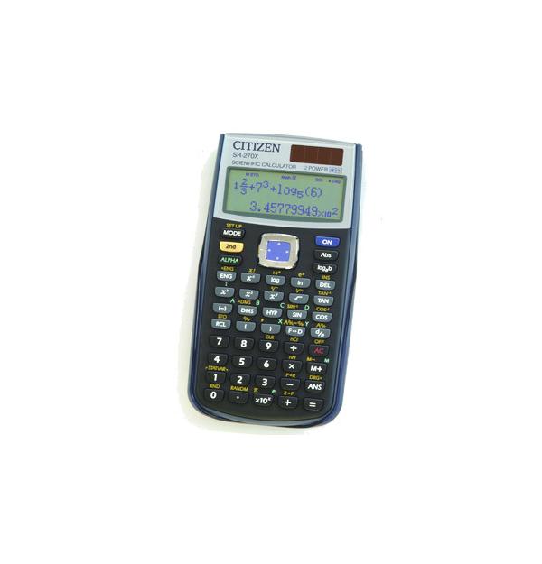 CALCULATOR STIINTIFIC 10+2 digiti, CITIZEN SR-270X