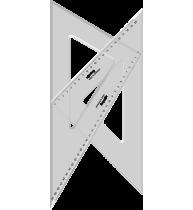 SET 2 ECHERE ROTRING CENTRO 45° SI 30/60°, 32 cm, S0237870