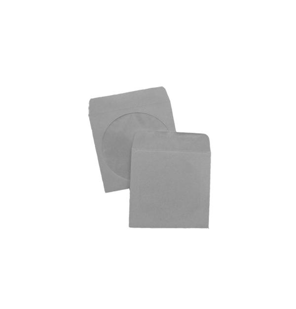 PLIC PENTRU CD (125x125 mm) 90 g/mp, alb gumat, 500 buc/cutie, YENER