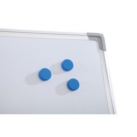 Pachet Tabla alba magnetica, 60x90 cm Premium + accesorii: markere, burete, magneti