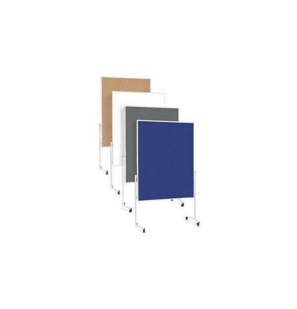PANOU PREZENTARE MGN MOBIL 1200x1500 mm, dubla fata gri, 2111101